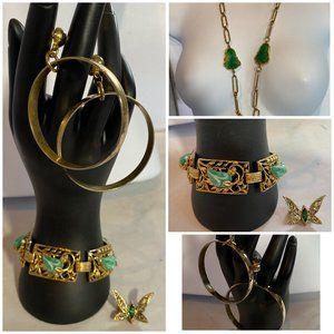 Vendome Designer Signed Necklace + Accessories